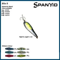 Bite IT 30g , Spoon metal lures for salt and fresh water