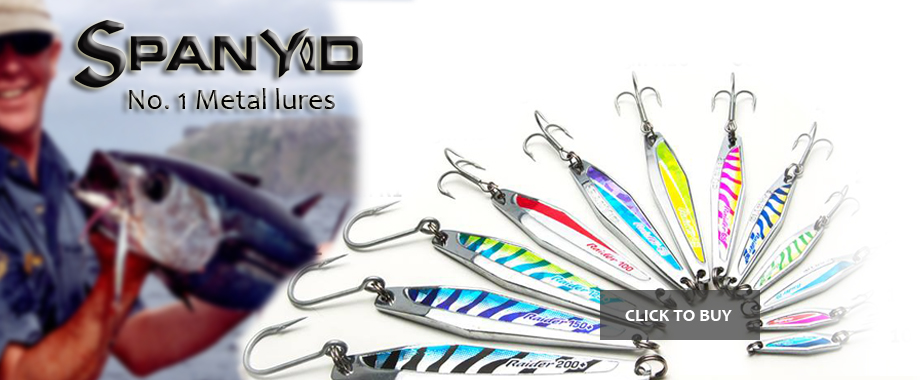 spanyid metal lures