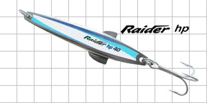 metal fishing lures Raider HP