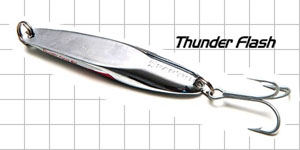 metal fishing lures Thunder Flash